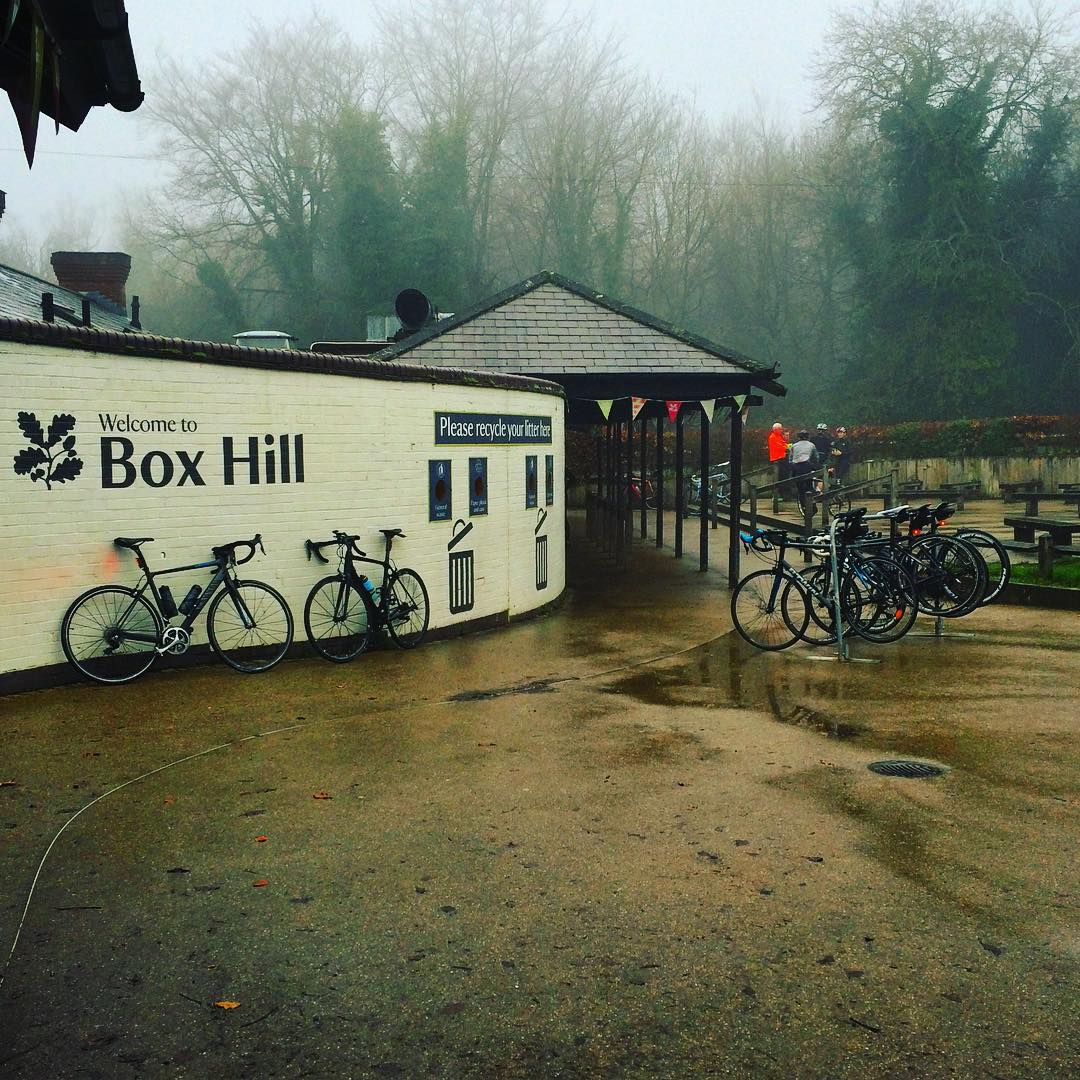 How does the real Box Hill compare to the Zwift version
