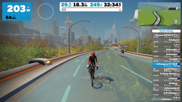 Zwift Update February 2019