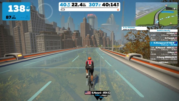 Zwift: Do you love New York? – Tempo Cyclist – Tasmania